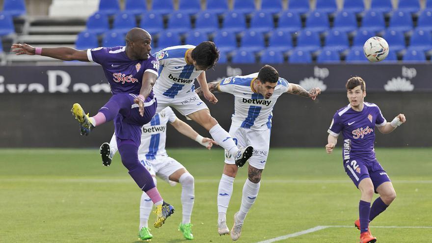La crónica del partido: El Sporting resiste en Leganés