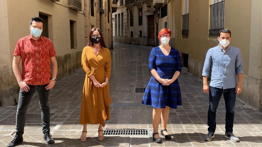 Marzà, Amigó y Mezquida refuerzan la candidatura de Micó a liderar el Bloc