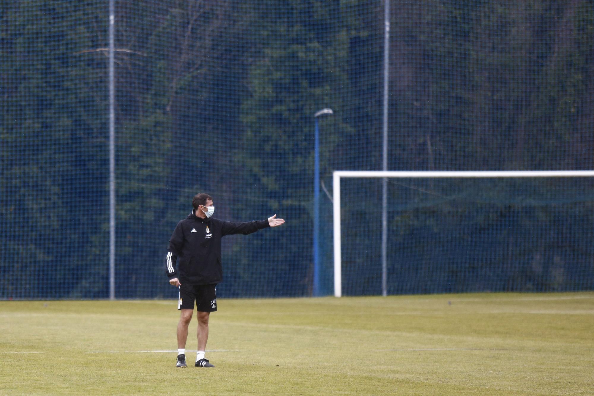 Entrenamiento del Oviedo