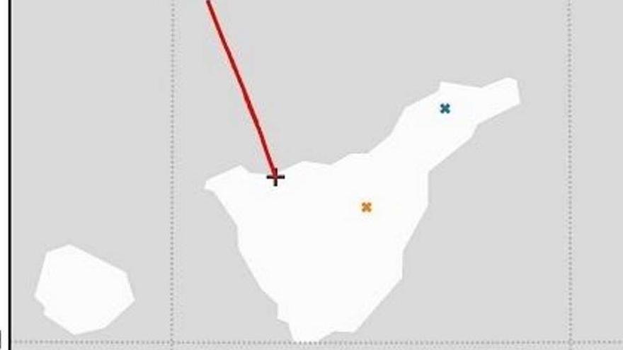 Detectan la caída de un meteorito en el noroeste de la isla de Tenerife