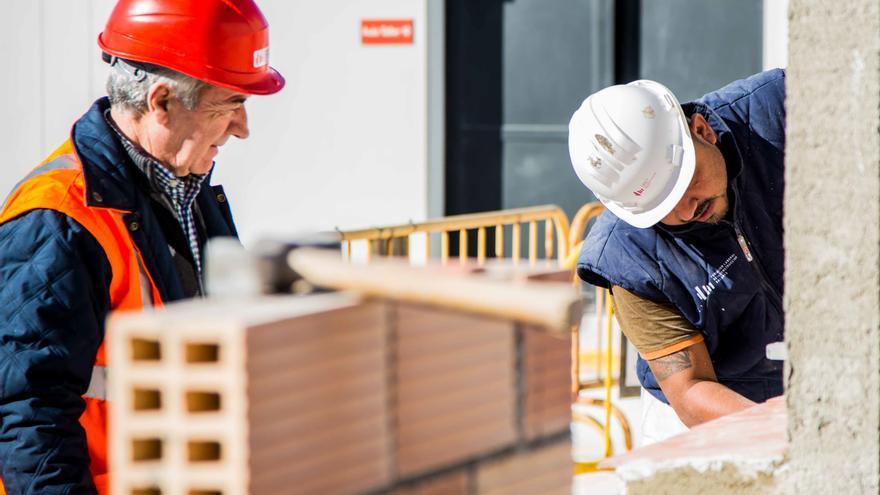 La Región cierra 2020 con 1.957 accidentes laborales en la construcción