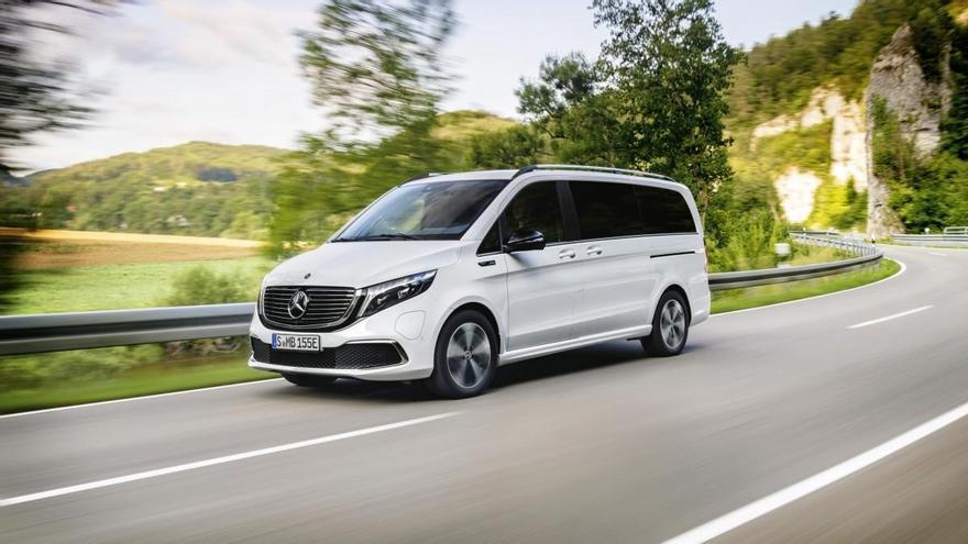 El Mercedes-Benz EQV 100% eléctrico ya está a la venta con 357 km de autonomía