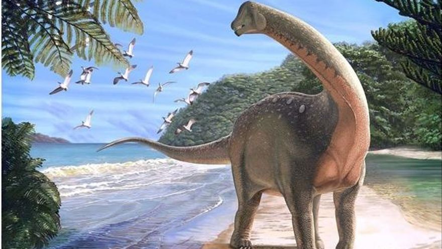 Un nou dinosaure aclareix el misteri de l'evolució d'aquests animals a l'Àfrica