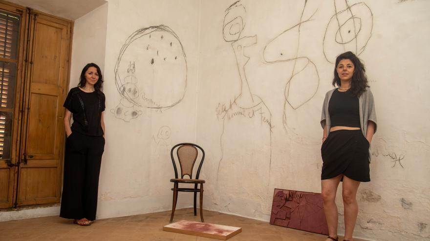 """""""Miró nos ha conectado con lo primitivo, básico y ritual"""""""