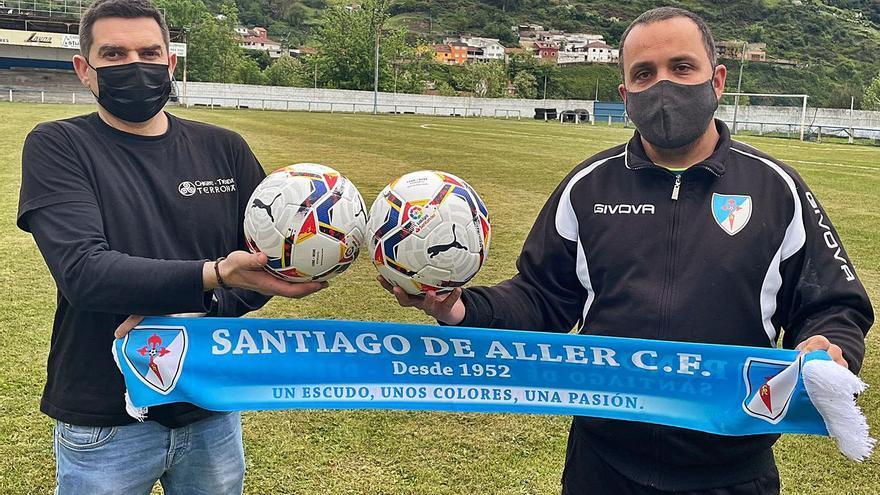 """La crisis del fútbol base: el equipo asturiano que busca """"padrinos"""" porque no tiene dinero para balones"""