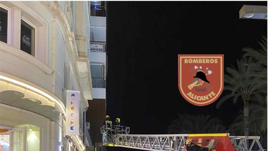 Extinguido un incendio en un local de ocio de Alicante esta madrugada