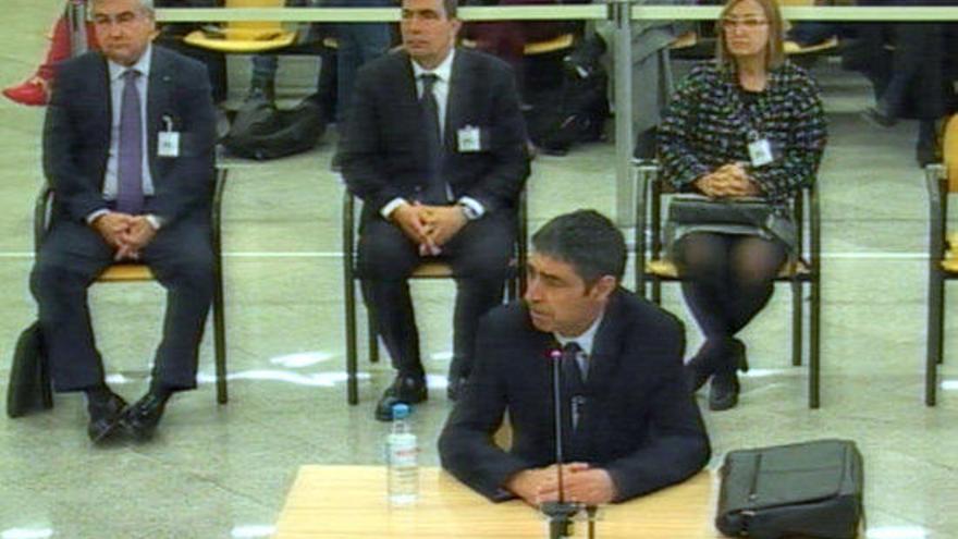 L'Audiència Nacional absol Trapero i l'excúpula d'Interior