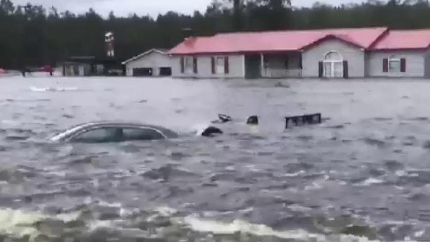 El huracán Florence deja ya al menos 31 fallecidos