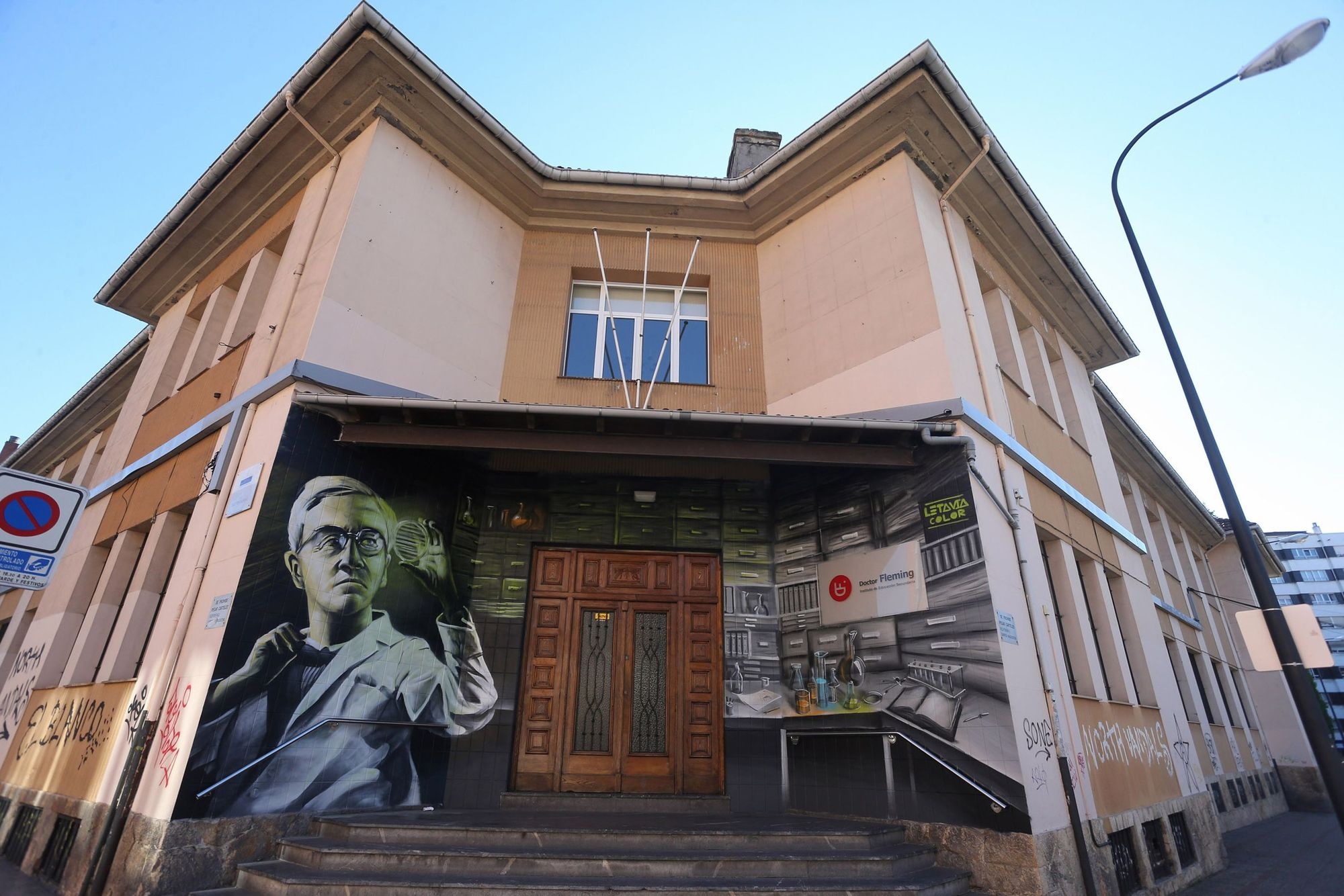 El asturiano Bastián Prendes, entre los mejores grafiteros de España