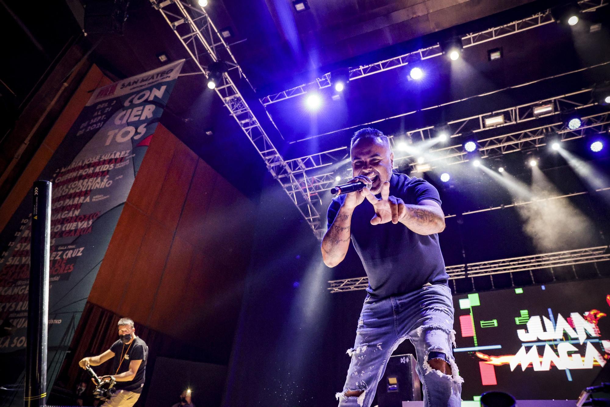 Así fue el concierto de Juan Magán en el auditorio de Oviedo