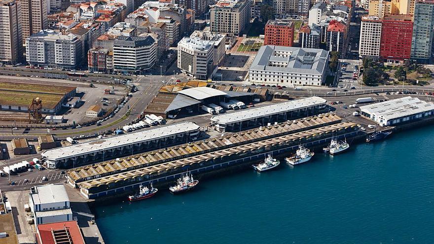"""La lonja de A Coruña """"salva"""" la Navidad y cierra 2020 con una caída de ventas del 13%"""