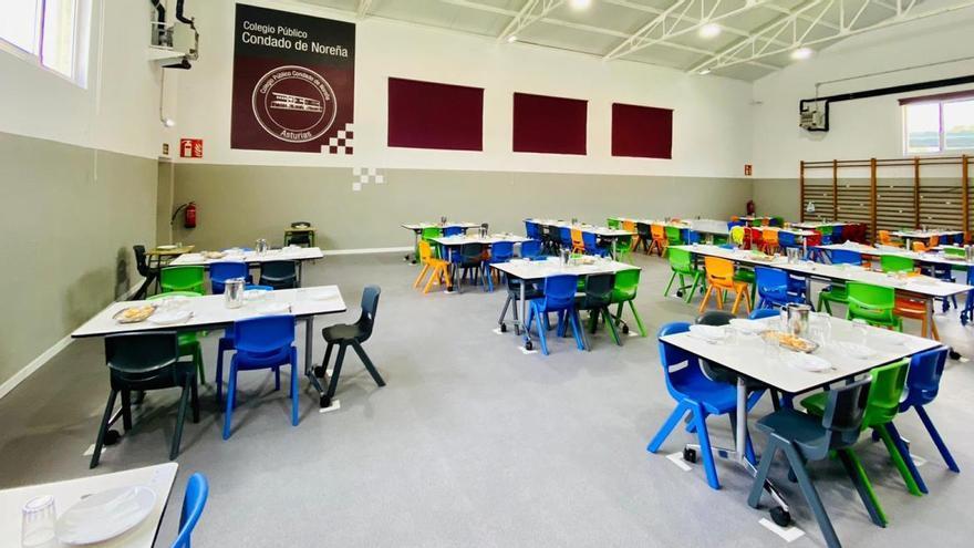 Cancelan el comedor y el transporte escolar en el colegio de Noreña por un positivo en covid
