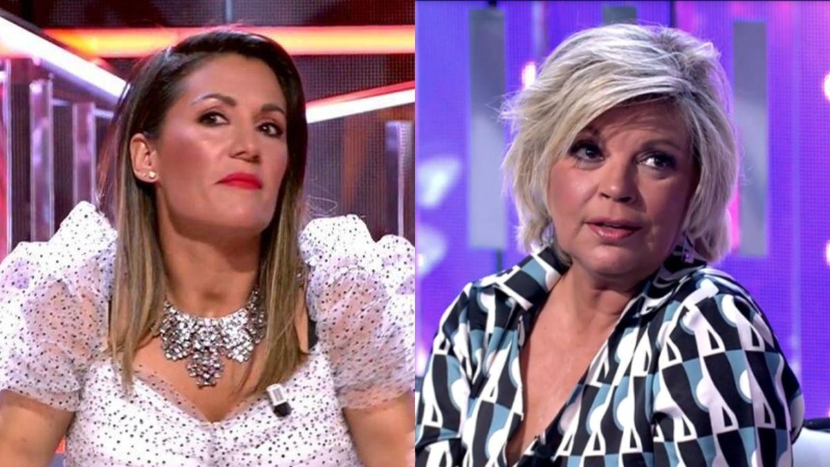 Nagore Robles y Terelu Campos.