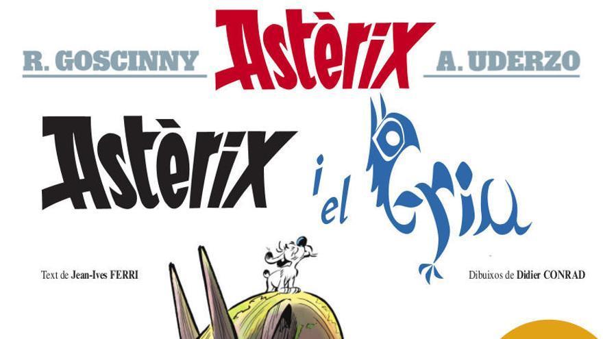 Astèrix i Obèlix tornen a la recerca d'un ésser mitològic, estrany i aterrador
