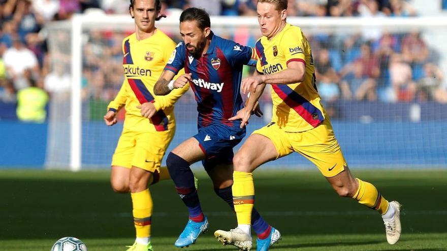 Llevant- Barça, en imatges