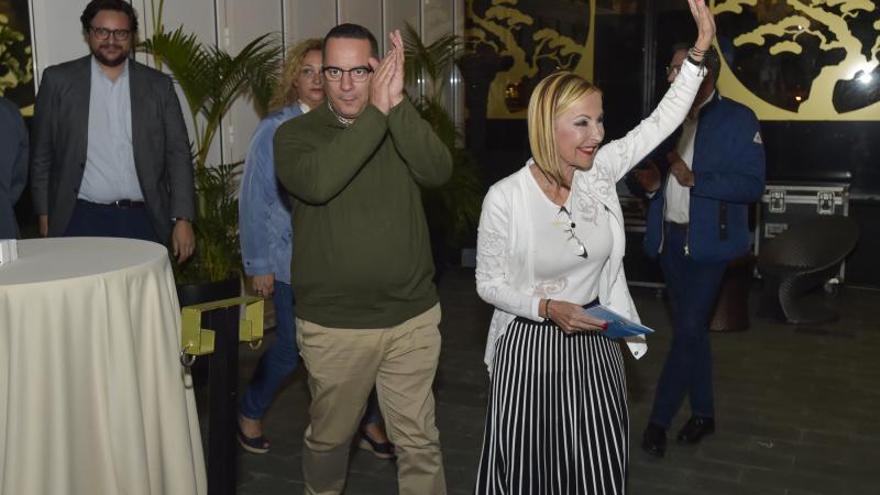 Noche electoral en el PP en Canarias