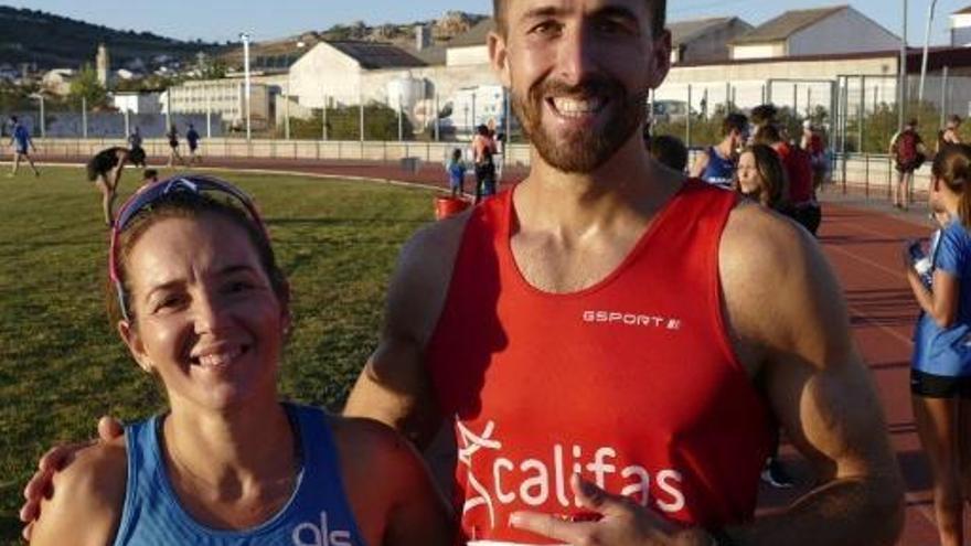 Maribel Díaz y Francisco Vallejo vencen en Peñarroya
