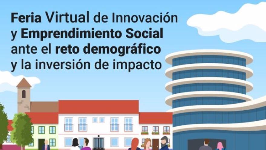 La Diputación celebra este mes una feria virtual de innovación y emprendimiento social frente a la despoblación