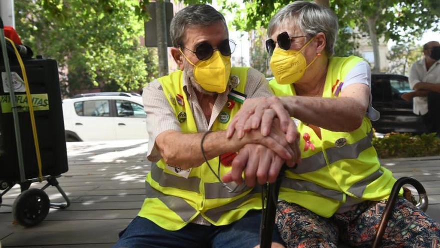 """Murcia clama contra el maltrato y el abuso a las personas mayores, """"un tema tabú"""""""