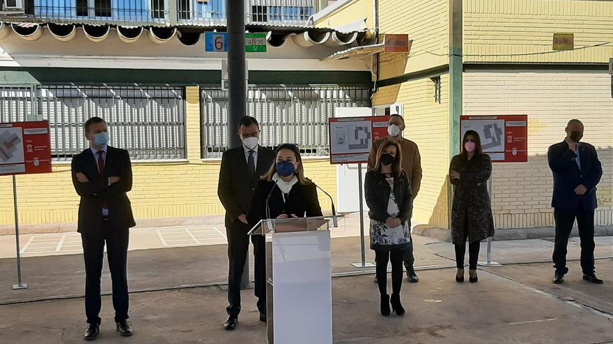 La Comunidad retirará el amianto de 36 centros educativos de Murcia