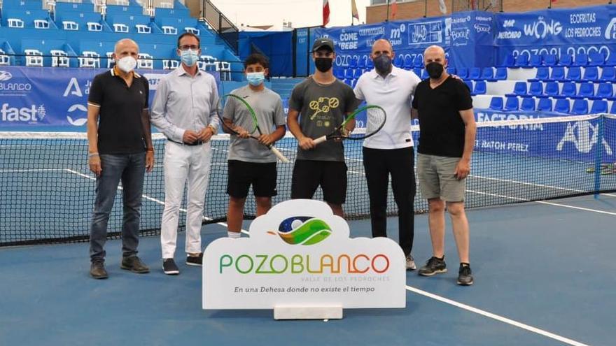 Los locales Blas Ruiz y Alejandro López jugarán el Open de Pozoblanco