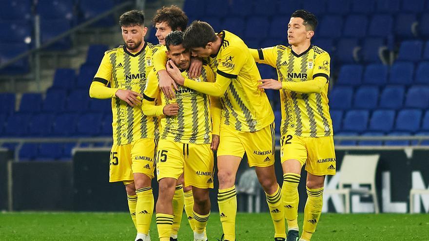 El Oviedo se reparte el gol