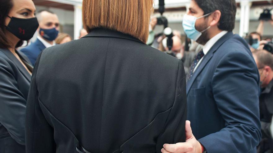 """López Miras confía en que el cambio en el Grupo Parlamentario Cs propicie una situación """"más estable"""""""