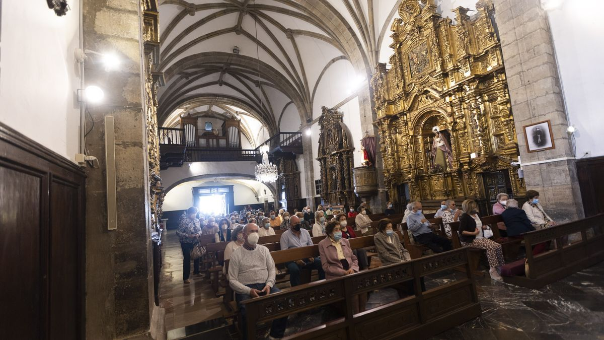 Misa del Carmen en Luanco