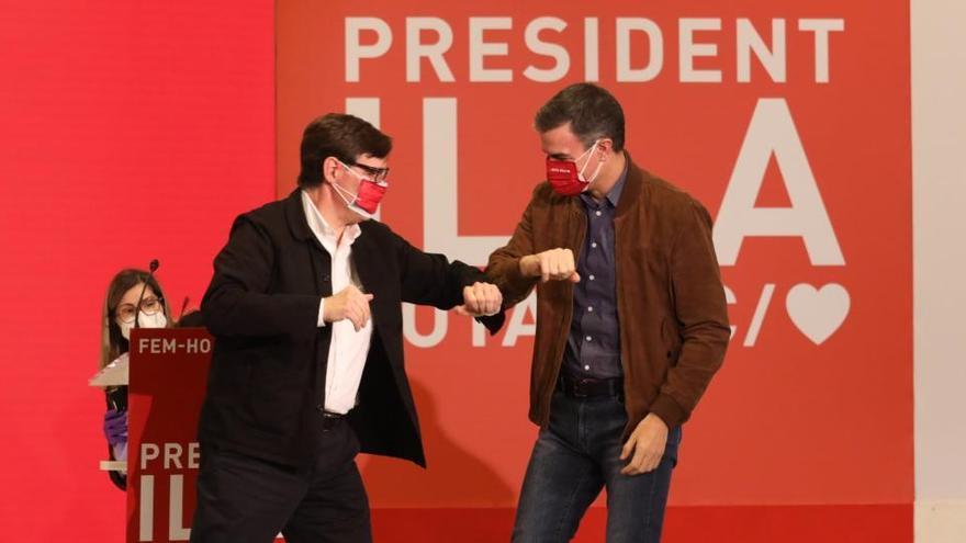 Sánchez responsabiliza al independentismo de que los comicios sean el 14F