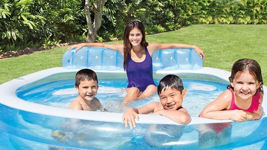 Piscinas hinchables y bañadores con descuentos de más del 20% para un fin de semana de sol