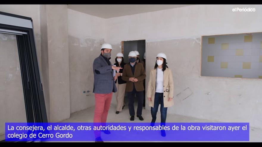 El colegio de Cerro Gordo ofertará 700 plazas para alumnos de 2 años hasta sexto
