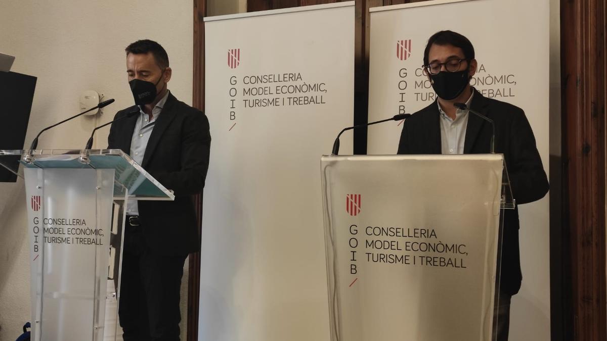 """BALEARES.-AMP.-Cvirus.-Negueruela dice que Baleares será un destino seguro """"con independencia del nivel de vacunación que tenga"""""""