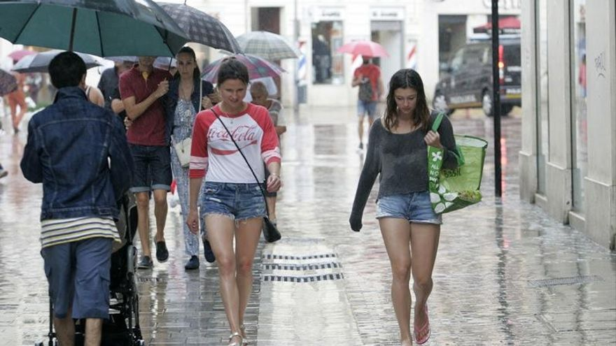 Andalucía en aviso amarillo por lluvias