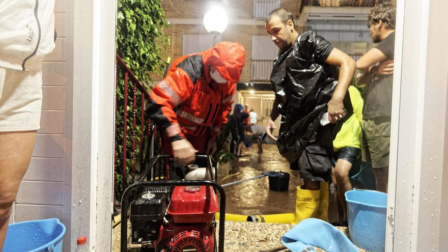 Aumentan las incidencias por la lluvia, de Benicàssim a Castelló
