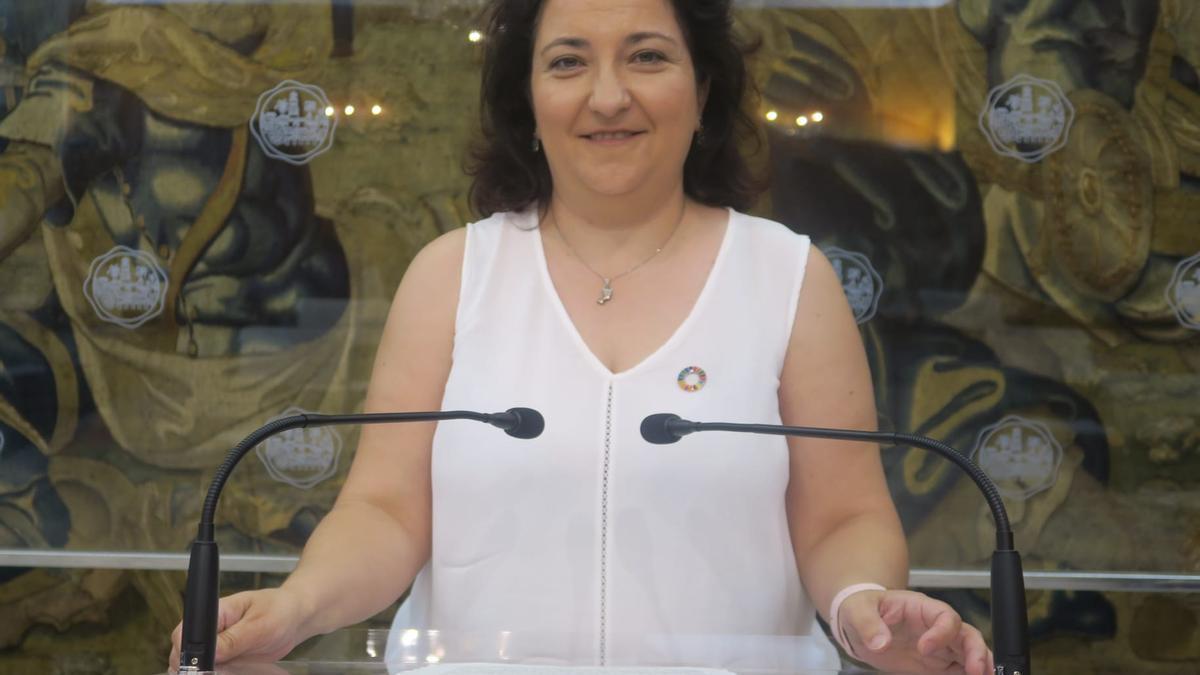 La concejala socialista Alicia Moya.