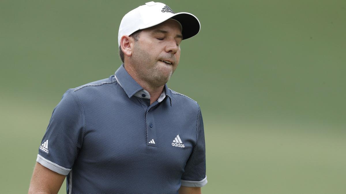 Sergio García no pudo pasar el corte y dijo adiós al Masters de Augusta 2021 en la 2ª jornada.