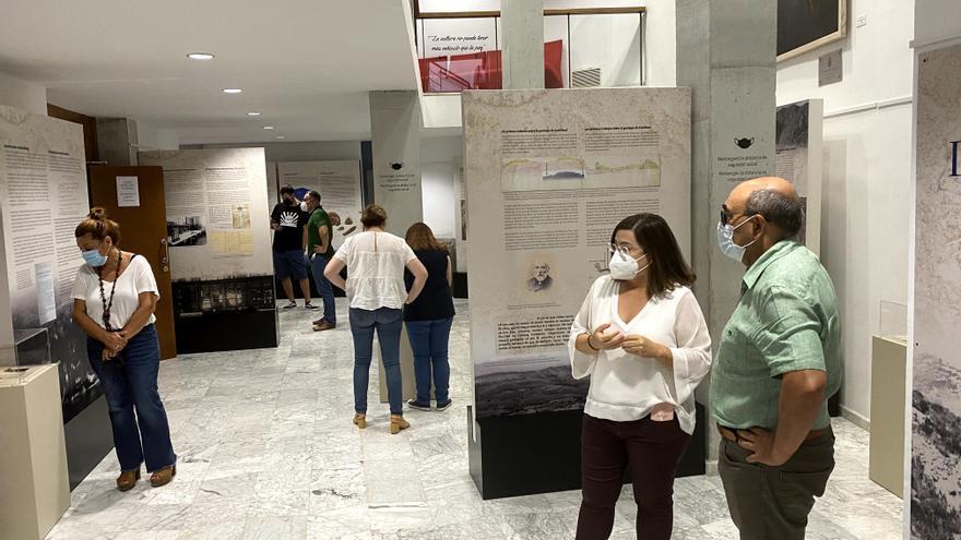 Regresa a Crevillent la exitosa muestra del paleontólogo Daniel Jiménez de Cisneros