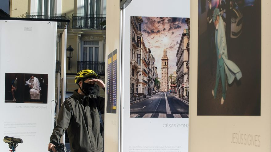 """""""El año de la pandemia"""" a través de los fotoperiodistas valencianos"""