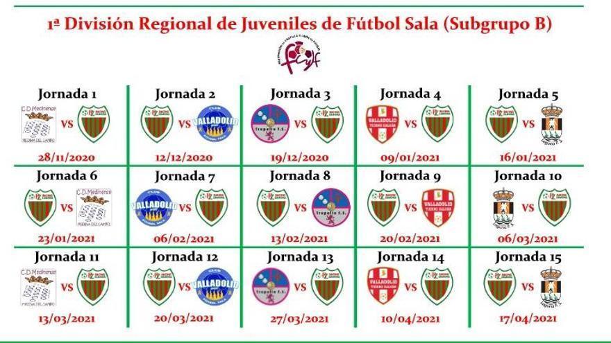 El Regional Juvenil del Racing Zamora ya conoce su calendario