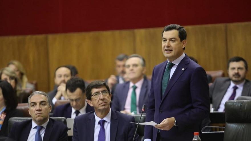 El Gobierno de PP y Cs escenifica la estrategia de desgaste al PSOE por los ERE