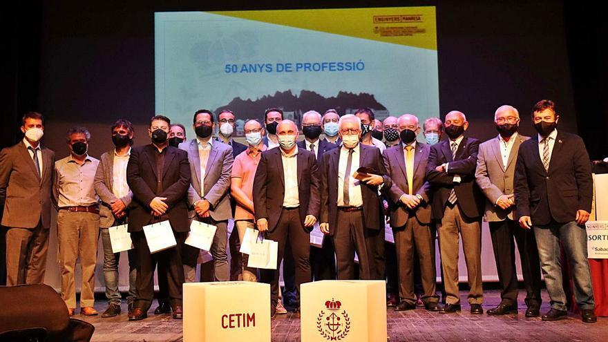 El CETIM premia Eurecat Manresa i reconeix la tasca dels enginyers veterans