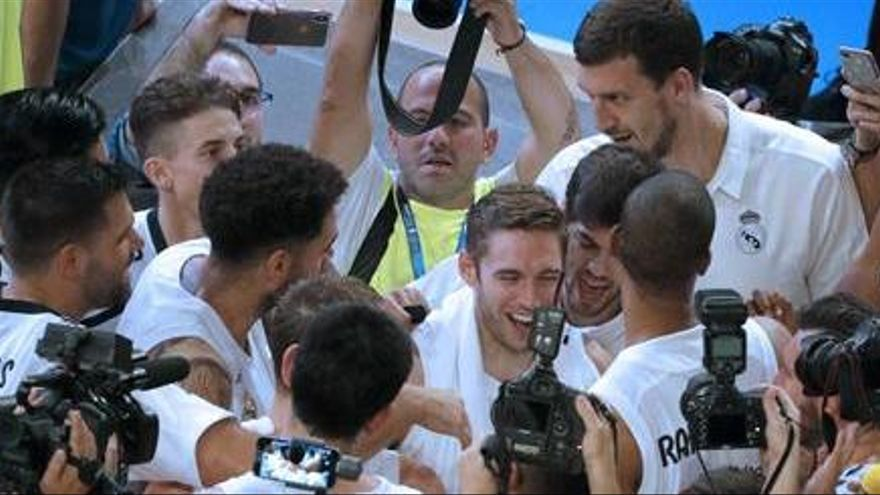 Quinta Supercopa para el Madrid en una final de alto voltaje ante el Baskonia
