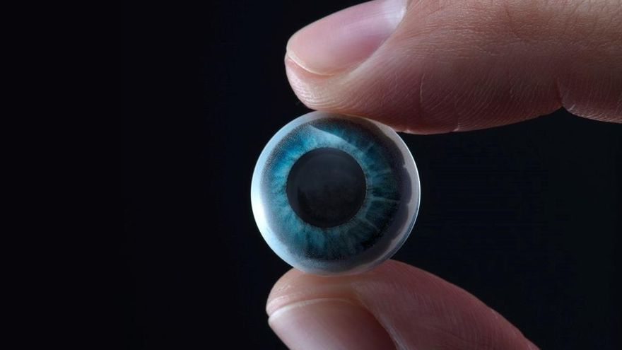 Desarrollan unas lentillas con pantalla incorporada para la realidad aumentada