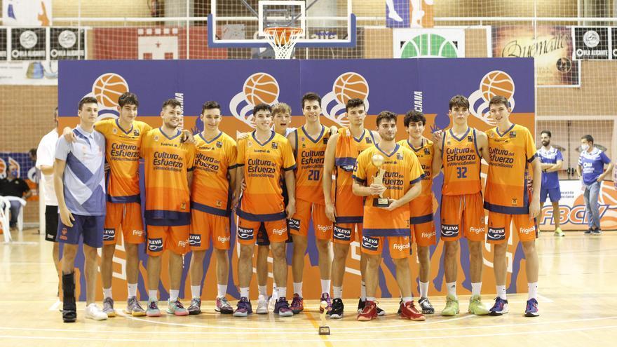 El Valencia Basket, campeón de la Lliga Valenciana Plata