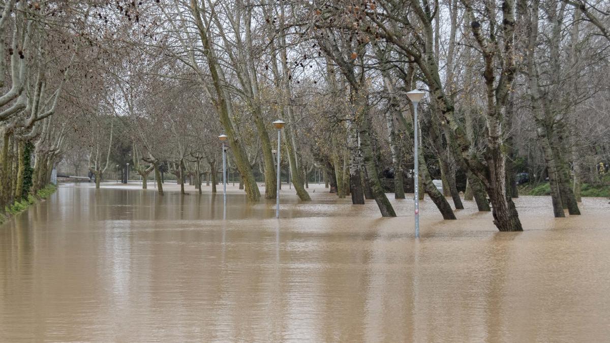 El Gloria va provocar inundacions i danys.