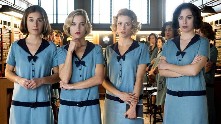 """'Las chicas del cable': """"Más acción y muertes"""" en su temporada final"""