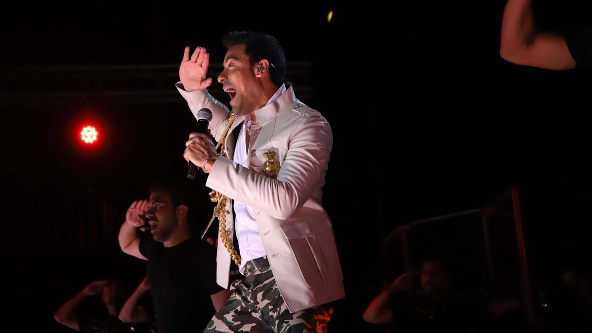 Los Califas vibra con la música de Carlos Rivera
