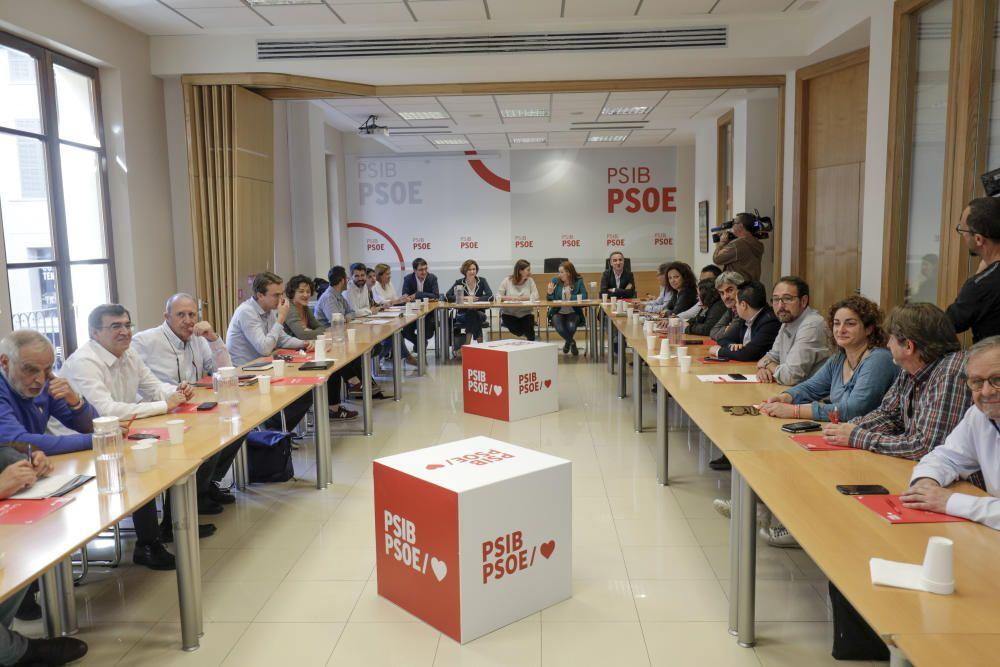 """El PSIB llama a mantener la movilización hasta el 26M: """"No hay nada ganado"""""""
