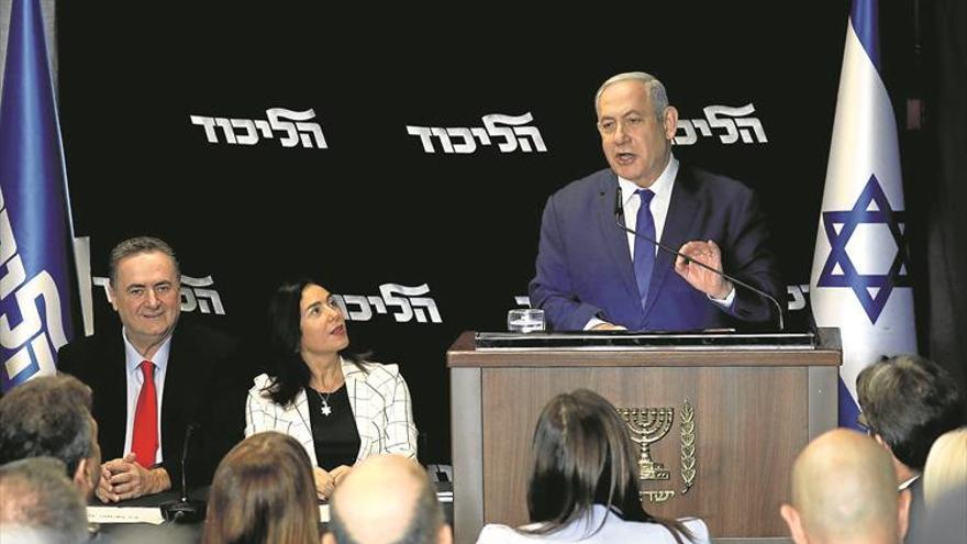 Netanyahu se refuerza tras ganar las primarias del partido Likud