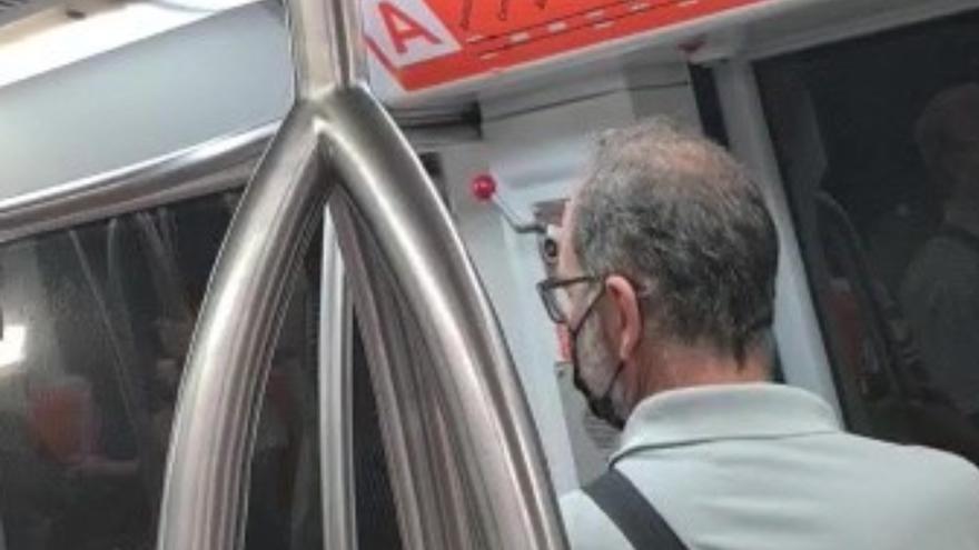 El certificado covid de Canarias, en el metro de Roma